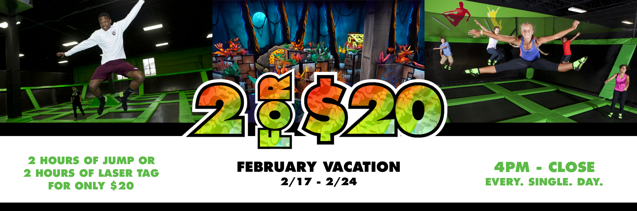 Feb. Vacation Promo 2018